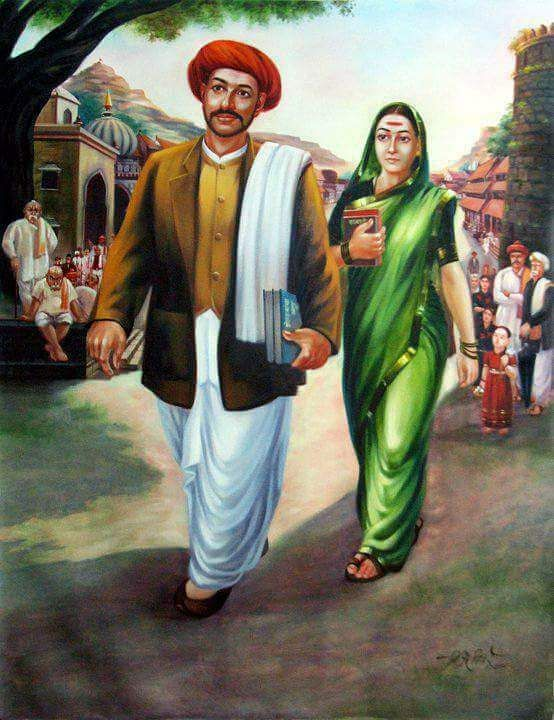 Jyotirao Phule and Savitribai Phule