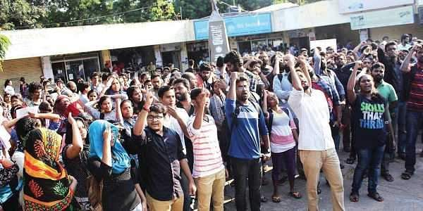UoH Students Protest