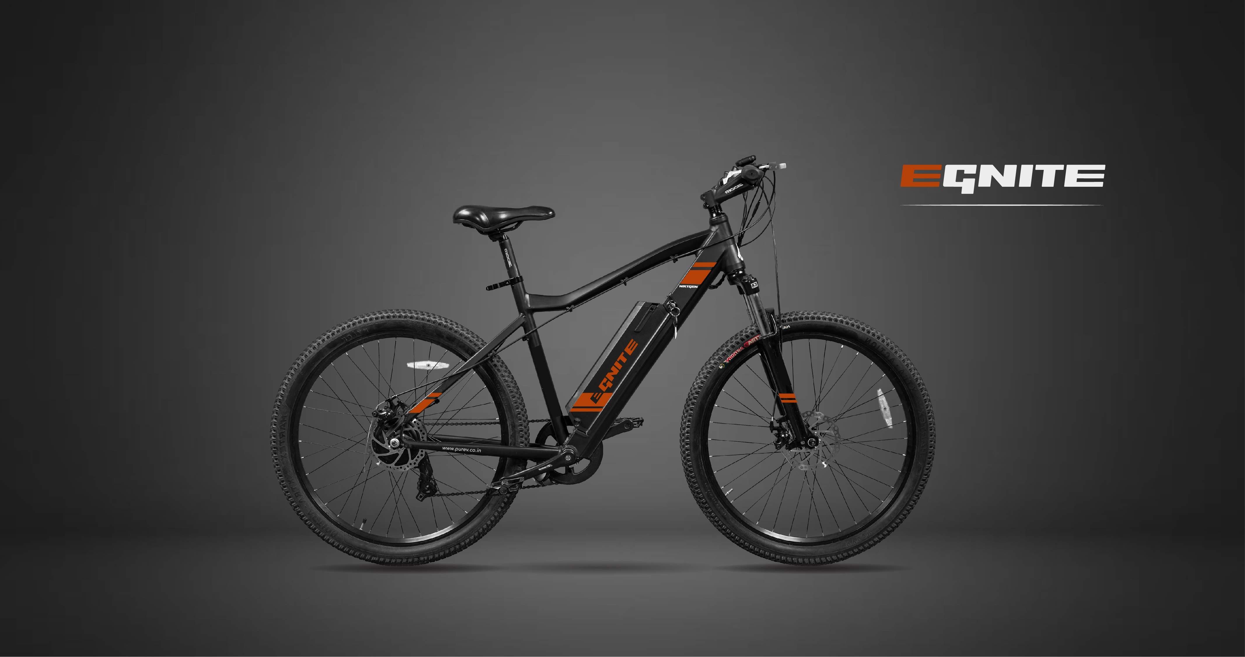 EGnite isIndia's longest range premium MTB bike