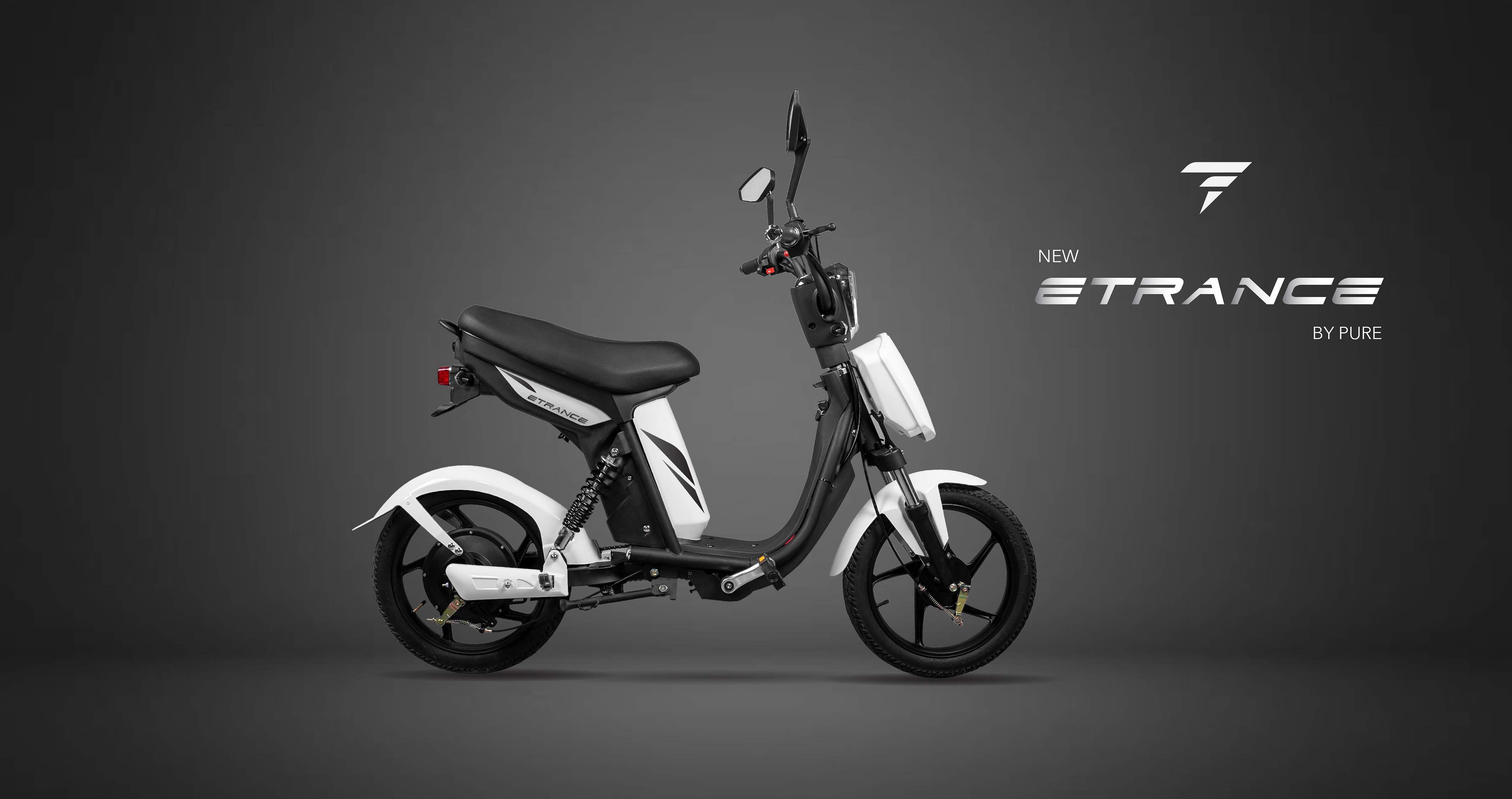 This unisex electric mobbike ETrance is designed for teenagers