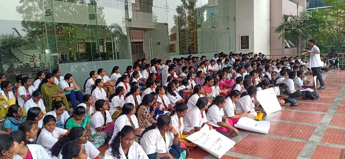 Medical Colleges Protest