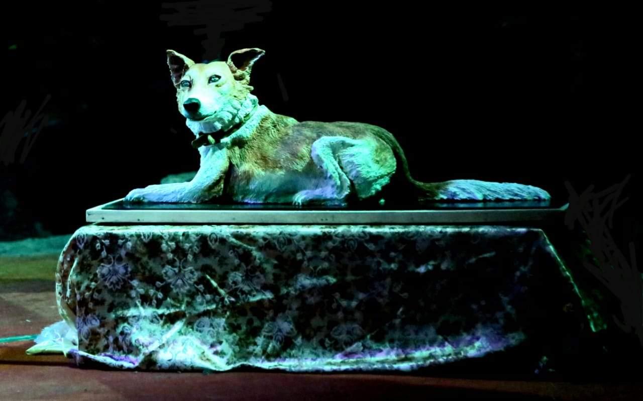 A sculpture was built of Bipathu's likeness