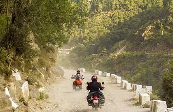 The duo kick-started their journey on September 5 from Kanyakumari and reached their destination on September 10
