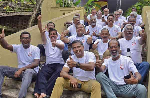 The group had reunited from across different countries after 42 years