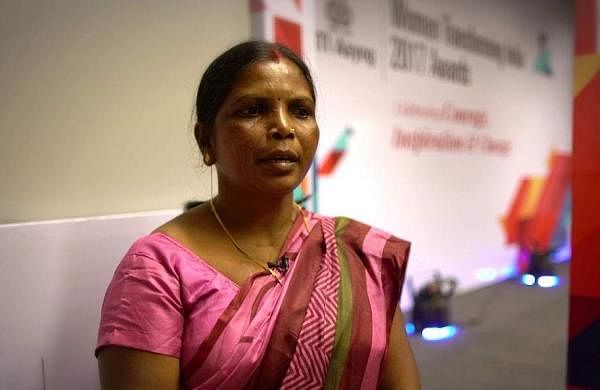Jamuna Tudu was conferred with the Godfrey Phillips Bravery Award in the 'Acts of Social Courage'