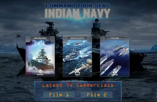 The game was launched on December 1 by the Indian Navy