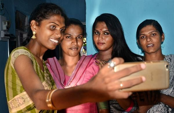 Tarika and her family. Pic: D Sampath Kumar