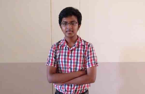 Swaraj Phadtare, student of VIT