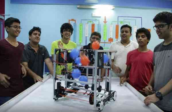 Team Neutrino was selected to represent India in Washington where the final round was held