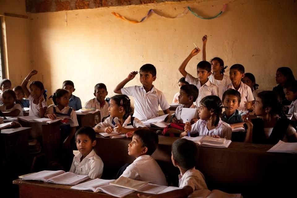 India-Children-Mangalore-School-Boys-Class-Room-298680
