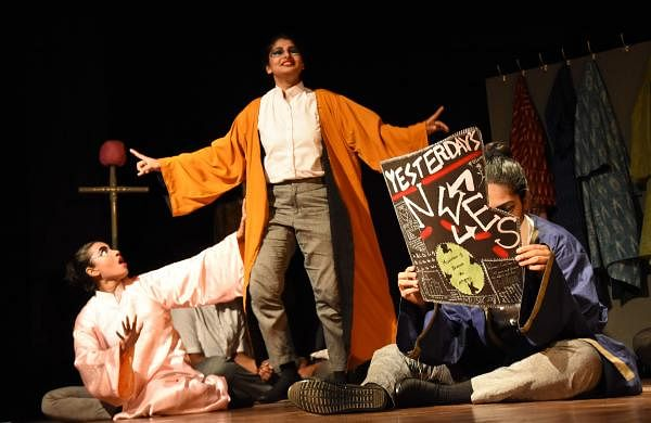 The characters were developed over a series of improvisations workshops that the team attended over the course of a month