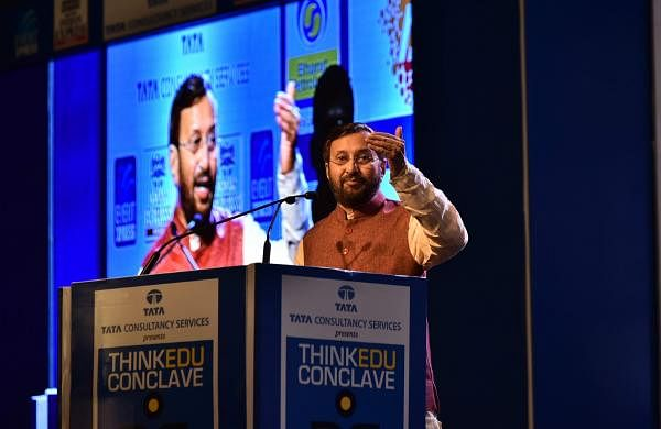 Students need to be tested on their aptitudes and attitudes, they need to be pushed to elarn, said the HRD minister   P Jawahar