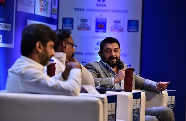 The session that hosted actor Arvind Swamy and Director Mohan Raja  was chaired by K Vaidyanathan, Editor, Dinamani