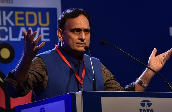 Rakesh Sinha at the ThinkEdu conclave