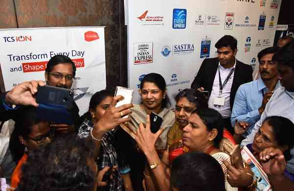 A lot of women look up to Kanimozhi and her aim is to empower as many women as possible.
