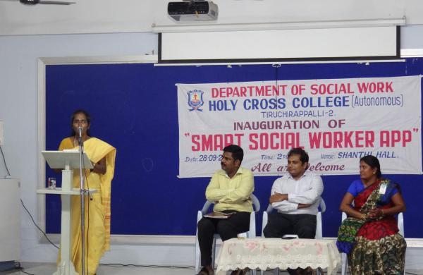 Smart social worker app