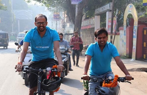Yogendra Yadav and Kunal Patel, graduated from the National University of Study and Research in Law (NUSRL) in Ranchi
