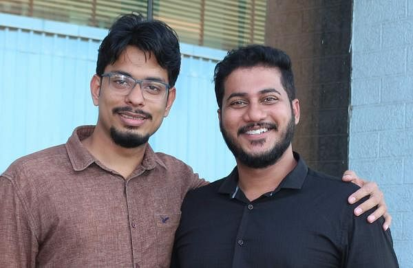 John Varghese and Bibin Mathew are childhood friends from Thrissur