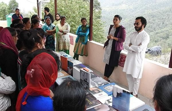 TheKitab was set up in Almora and dedicated exclusively tothewomen who live there