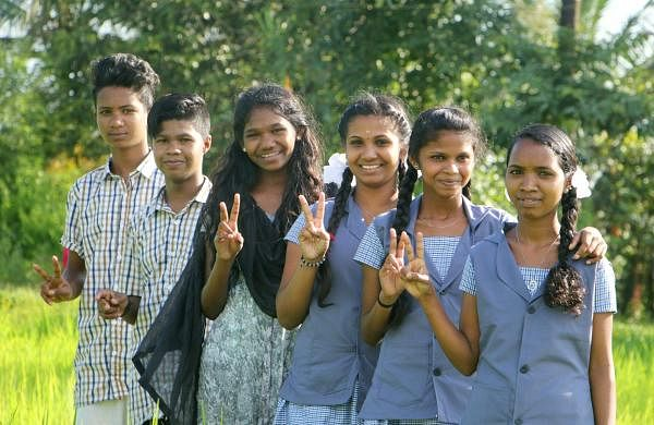 Wayanad students Tribal students