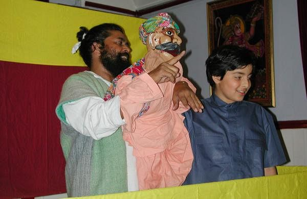 Ramlal is the fourth generation puppeteer in his family