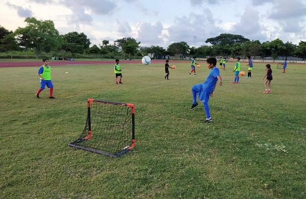 The football curriculum is accredited by The All India Football federation