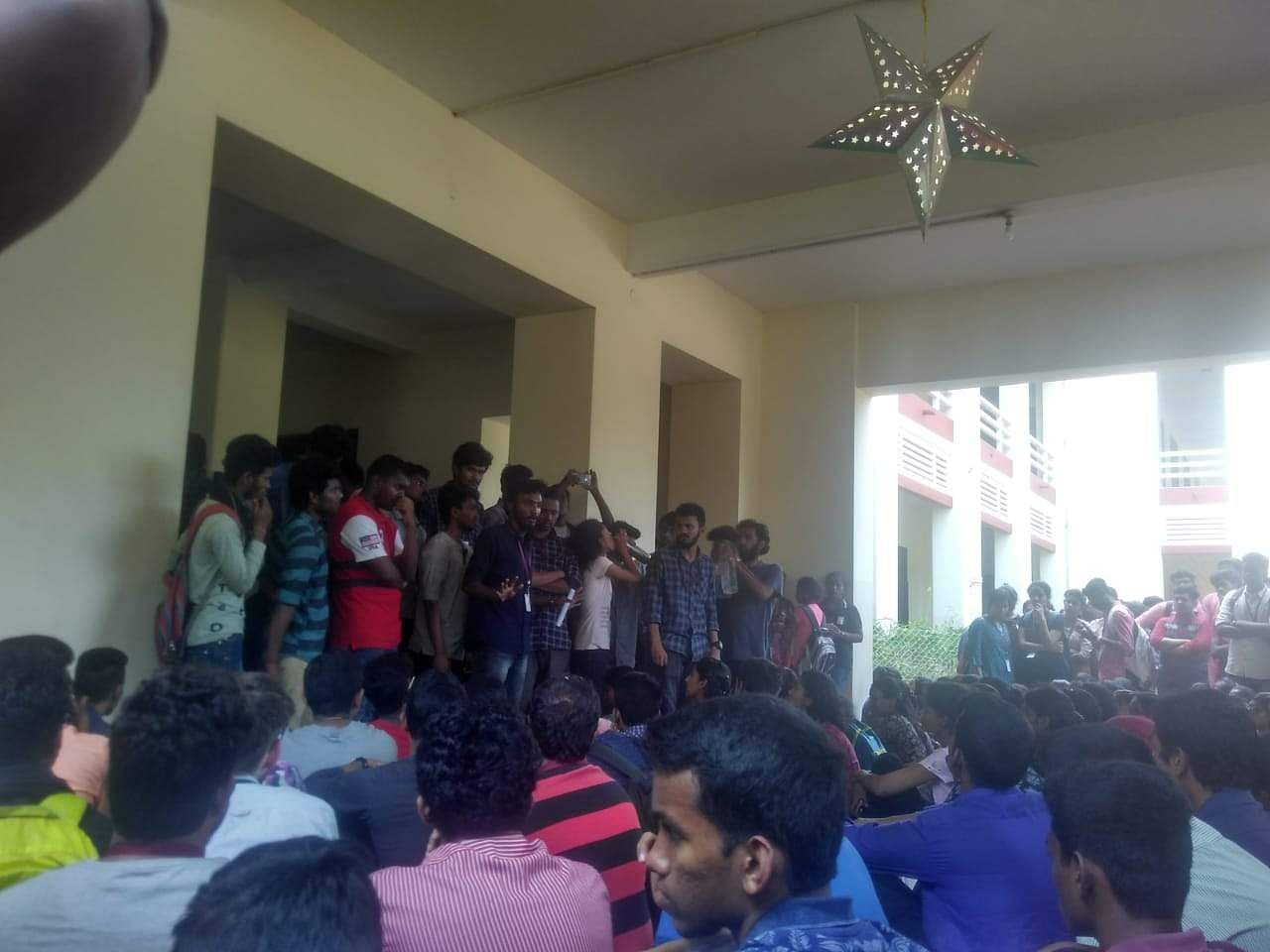 Madras Christian College Student Protests