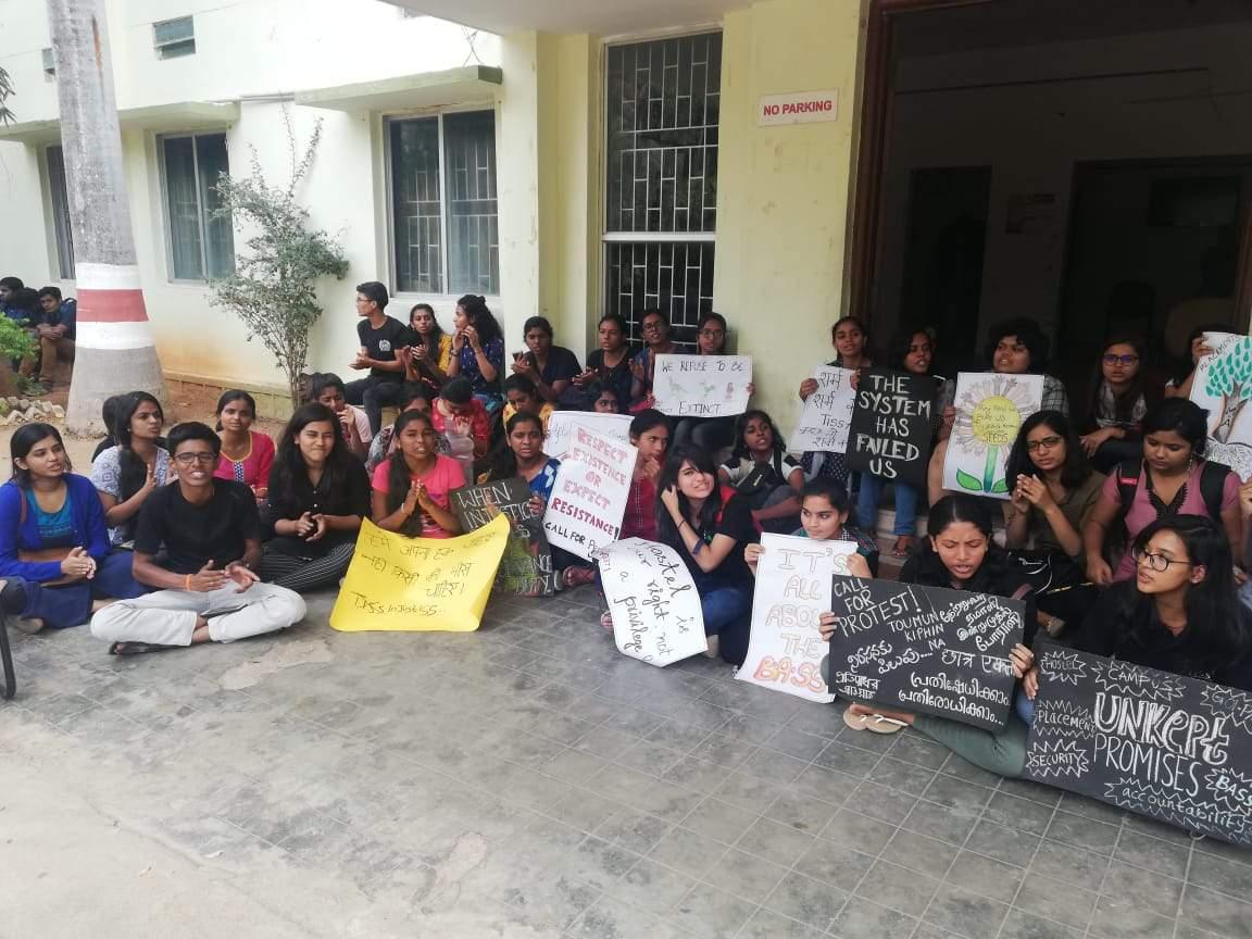 TISS Hyderabad students Strike