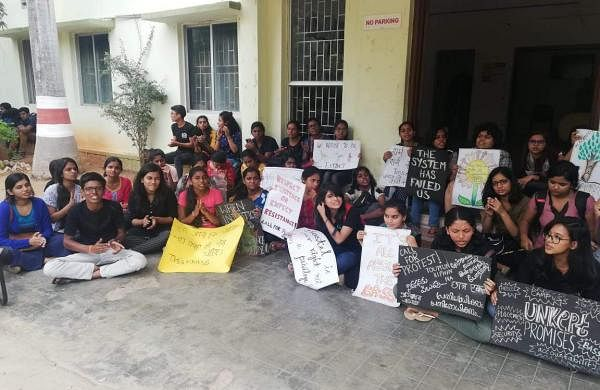 TISS Hyderabad students Strike