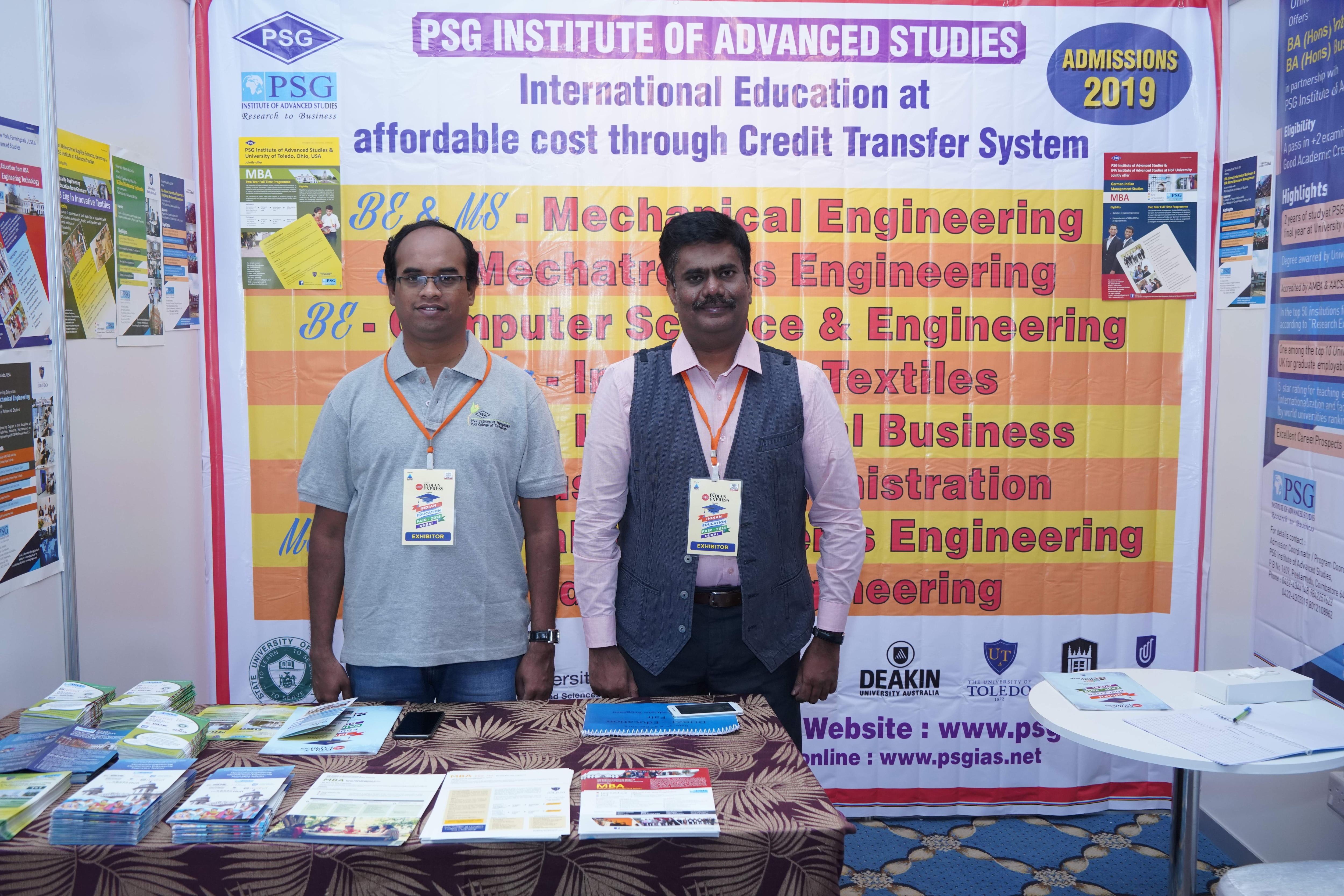 PSG Institute of Management College Courses