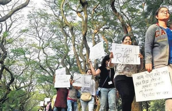 IISc Research Fellowship Student Protest