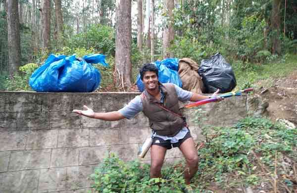 Jacob Cherian started plogging way before it was a thing