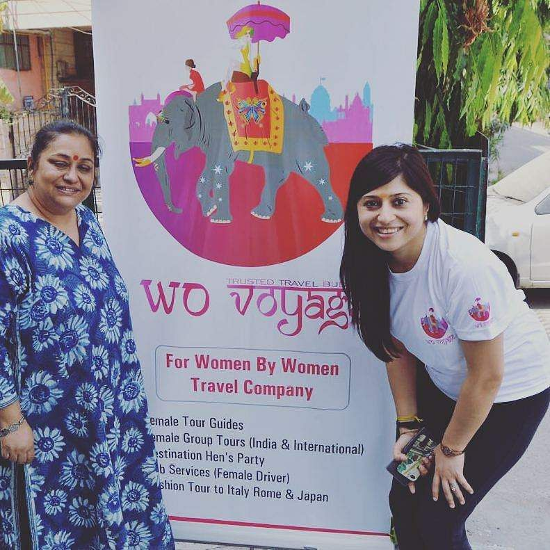 Solo travel for women is a piece of cake thanks to this delhi rashmi chadha r from delhi is the founder and ceo of wovoyage a travel start up which provides risk free and safe tours for female travelers publicscrutiny Choice Image