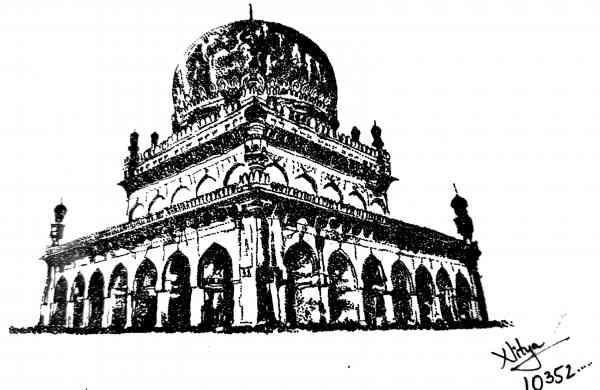Qutubshahi_tomb