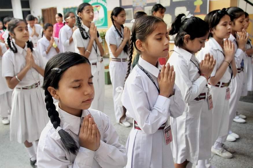 Schoolchildren-pray-for-early-release-of-former-Indian-naval-commander-Kulbhushan-Jadhav