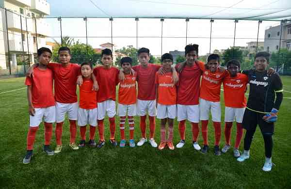 The children are trained by AIFF certified coaches at FC Madras