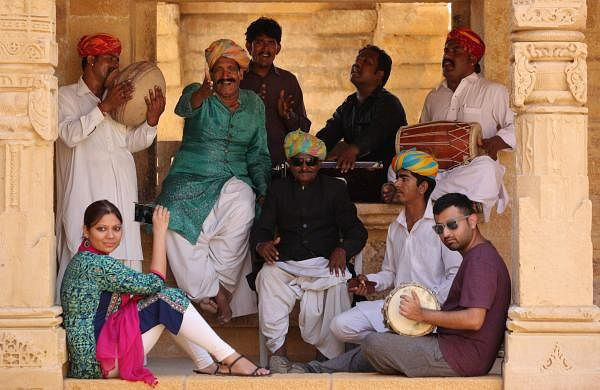 Team Anahad finds folk talent from the very interiors of the Indian states (PC: Anahad)