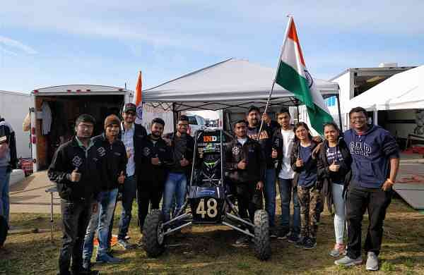 Team Nemesis bagged the fourth position at the  Baja SAE Maryland