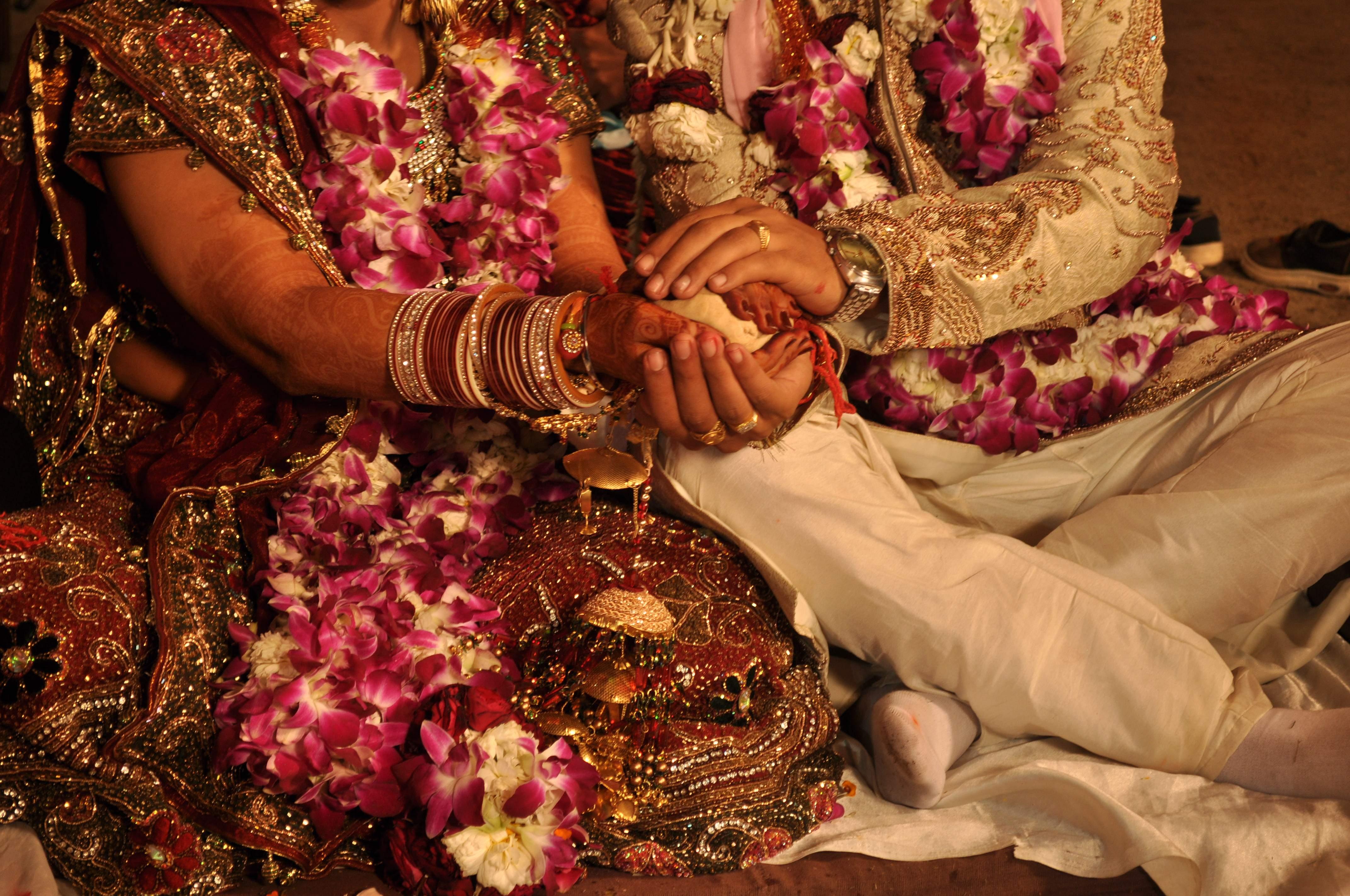 Green Indian Wedding