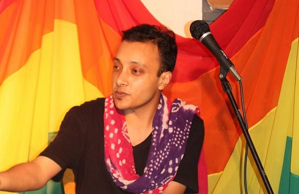 Rōmal Lāisram is the founder of Queer Arts Movement, India (QAMI)