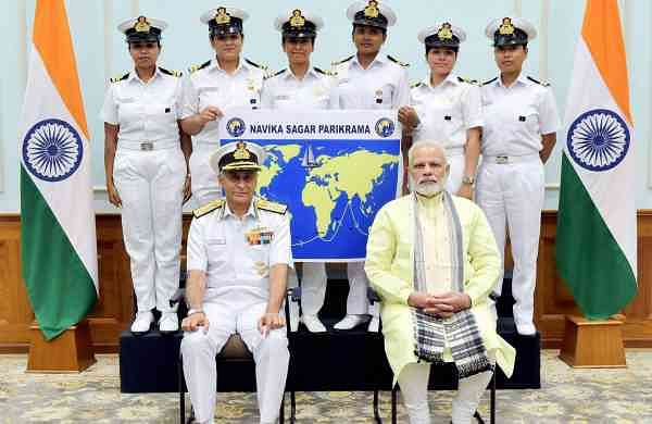 The INSV Tarini was built by Aquarius Shipyard in Goa | Pictures: PTI