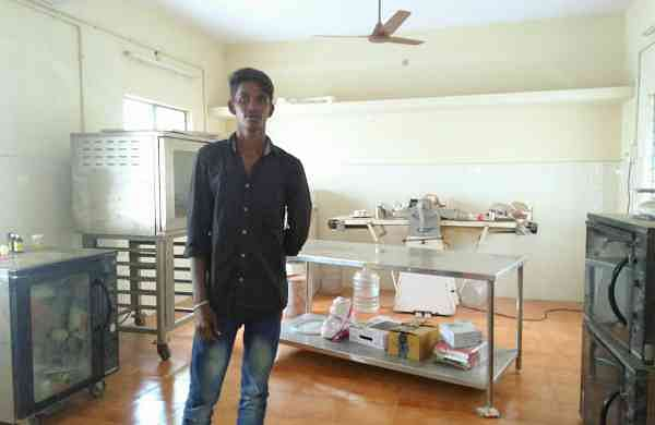 From the world of violence to the world of baking, Praveen has come a long way