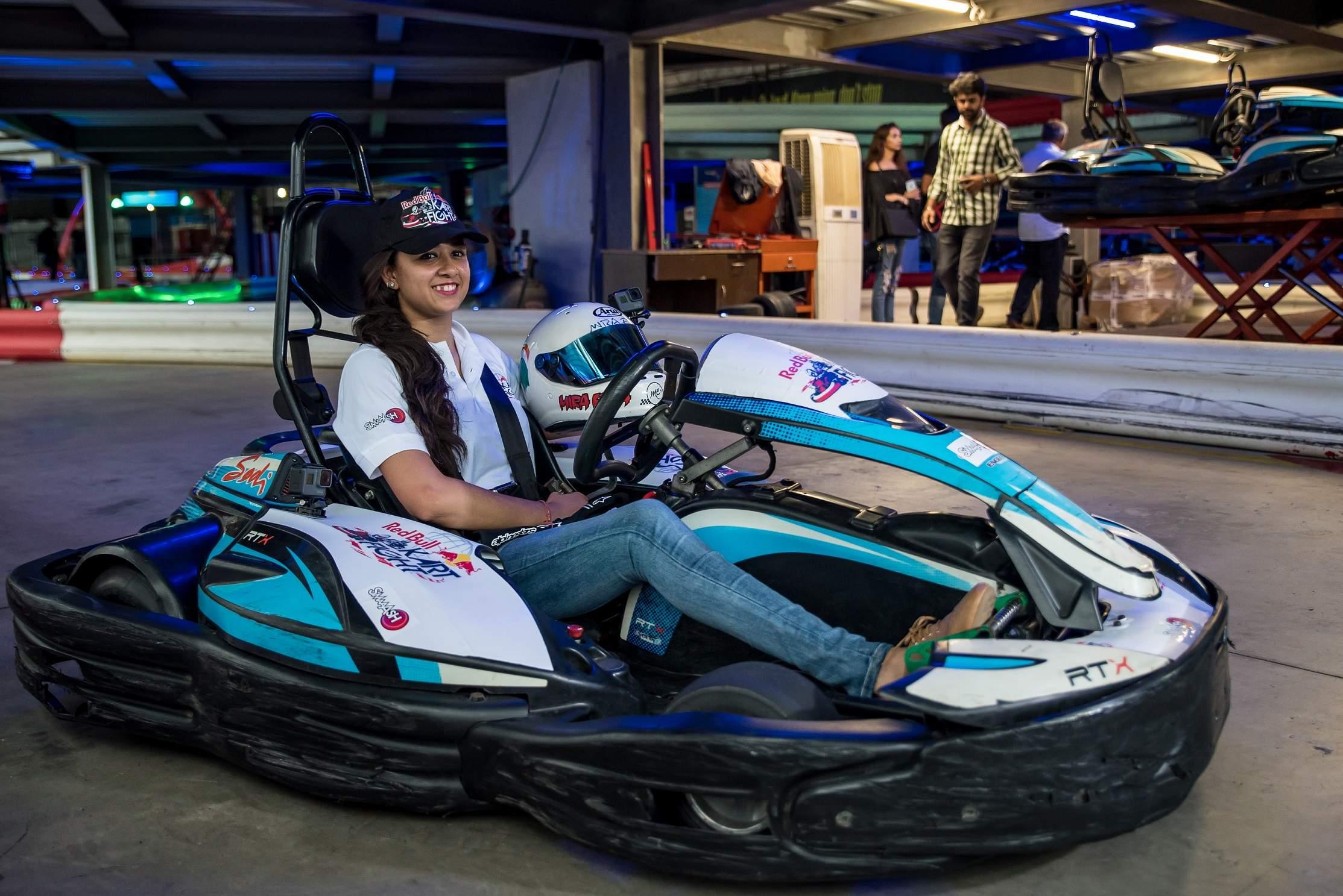 Racing_Sensation_Mira_Erda_racing_laps_at_the_launch_of_Red_Bull_Kart_Fi