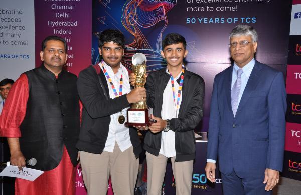 Winners M Rajshankar, Sucheth Hegde