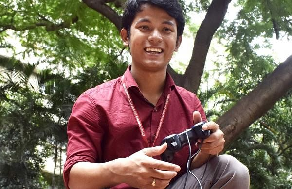 Shivashish Borah, a third-year engineering student from Sapthagiri College of Engineering and Technology has invented the self-driving car