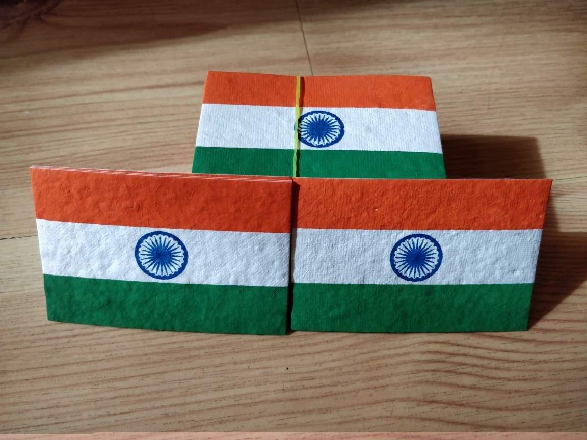 Eco - friendly National flag