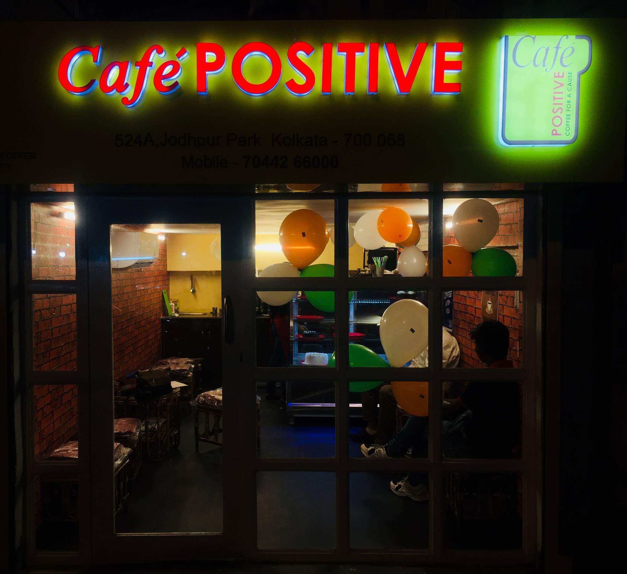 cafe positive in Kolkata