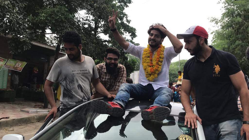 Delhi University student election