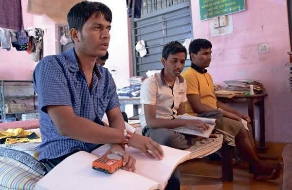 Medical seat for Visually challenged