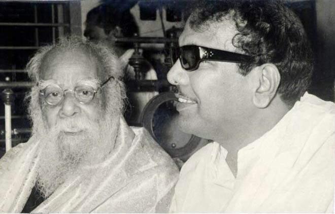 Anti-Hindi protest under Periyar and DMK